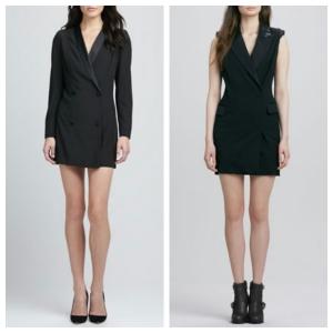 tuxedo dress 2