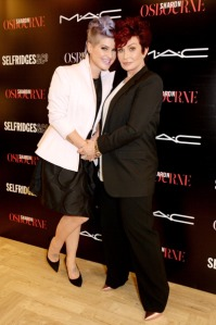 Sharon & Kelly Osbourne Visit Selfridges London For Upcoming M.A.C Collaboration